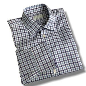 PAKEMAN CATTO & CARTER MEN'S  CHECK DRESS SHIRT